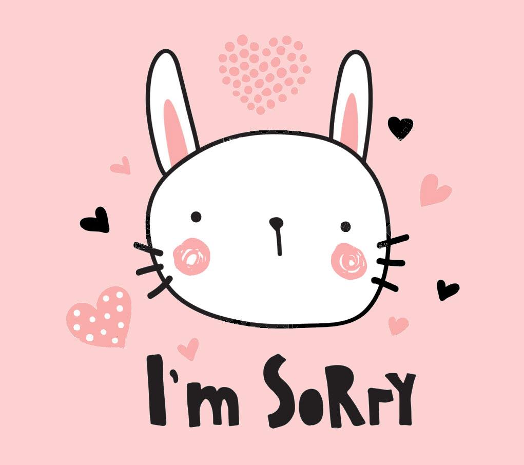 Hình ảnh sorry cute