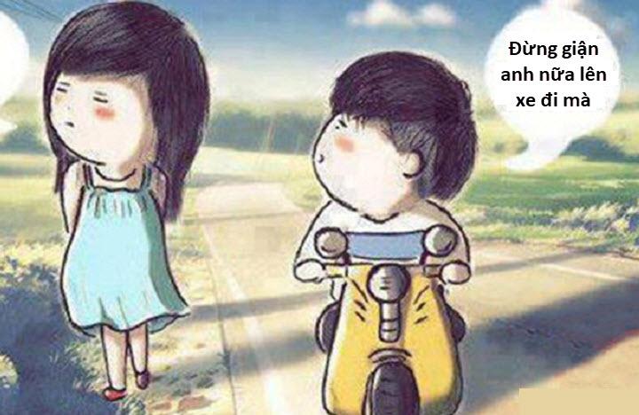 Hình ảnh xin lỗi bạn gái
