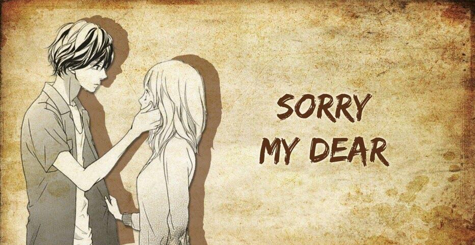 Hình ảnh xin lỗi tình yêu đẹp