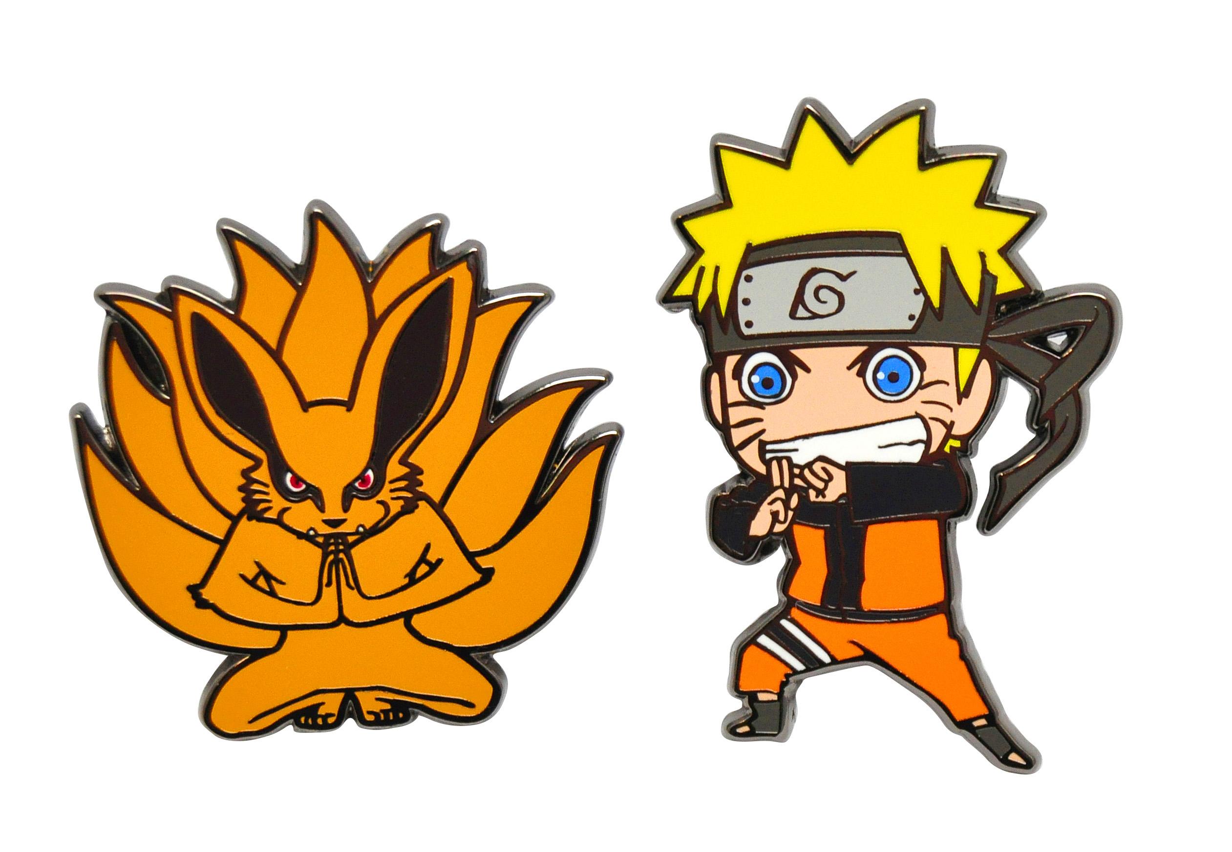 Naruto chibi và hồ ly