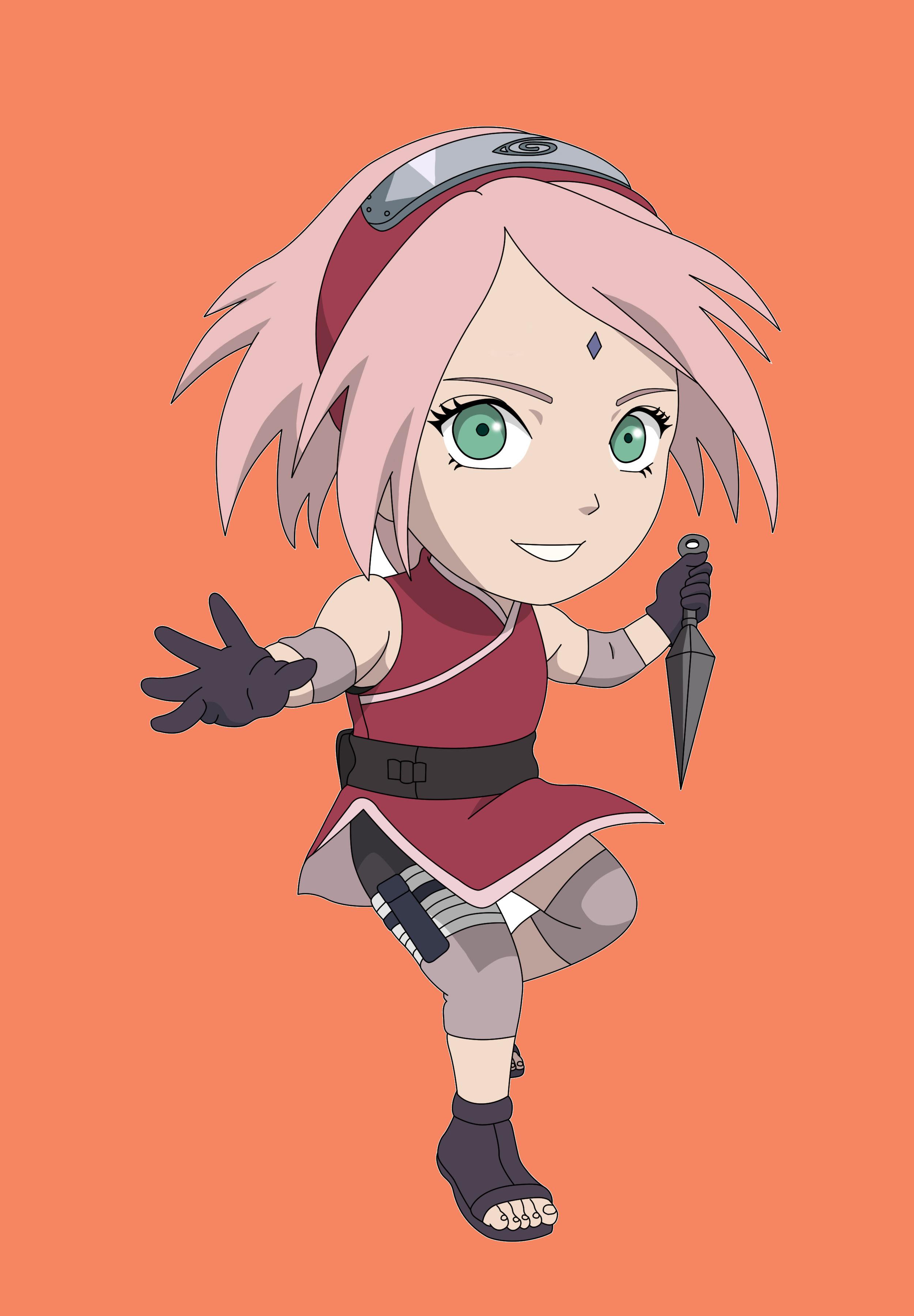 Sakura Naruto chibi