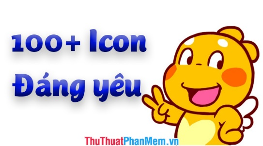 100+ Icon dễ thương cực đẹp