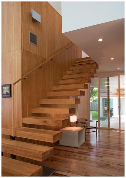 Ảnh cầu thang gỗ đẹp nhất