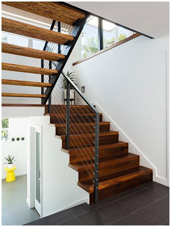 Ảnh mẫu cầu thang gỗ đẹp nhất cho ngôi nhà