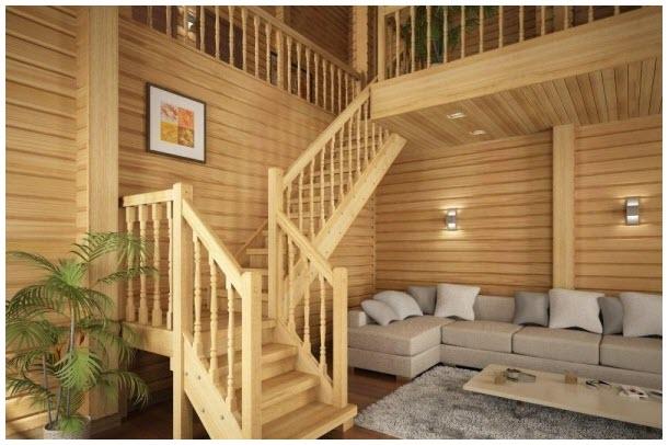 Hình ảnh mẫu cầu thang gỗ đẹp