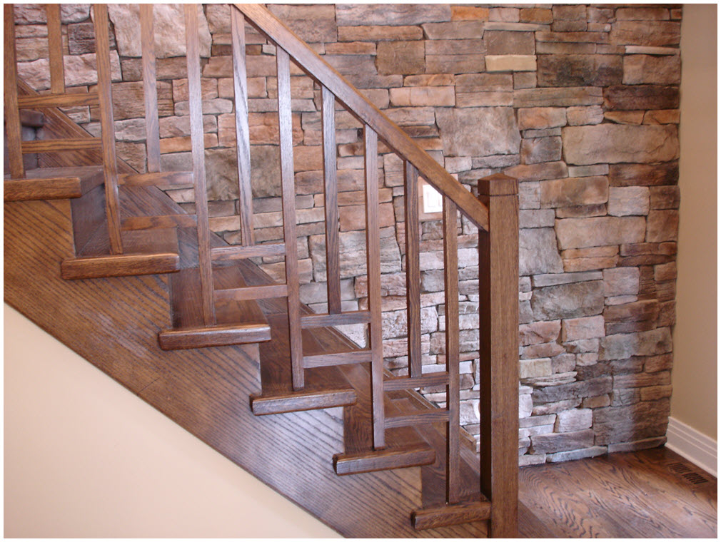 Hình cầu thang gỗ đẹp nhất