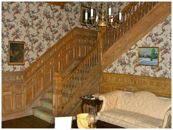 Hình mẫu cầu thang gỗ