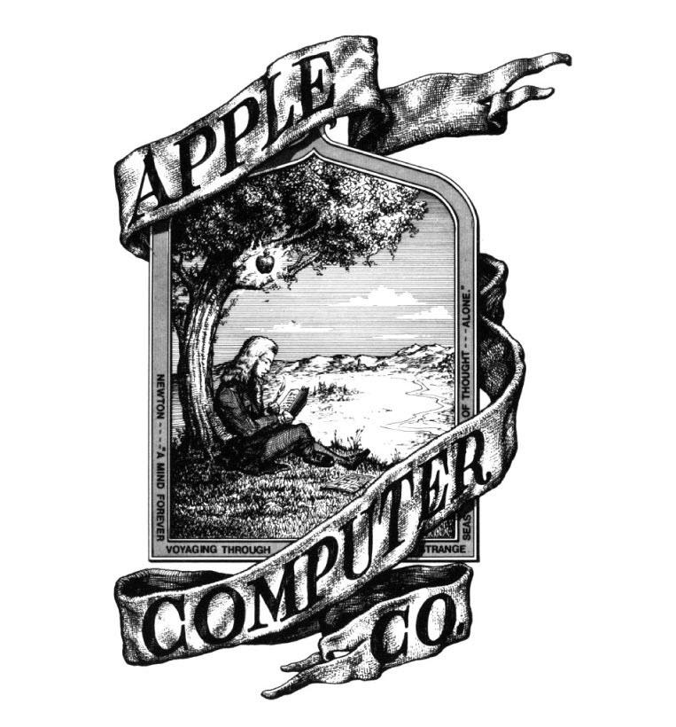 Logo apple đầu tiên