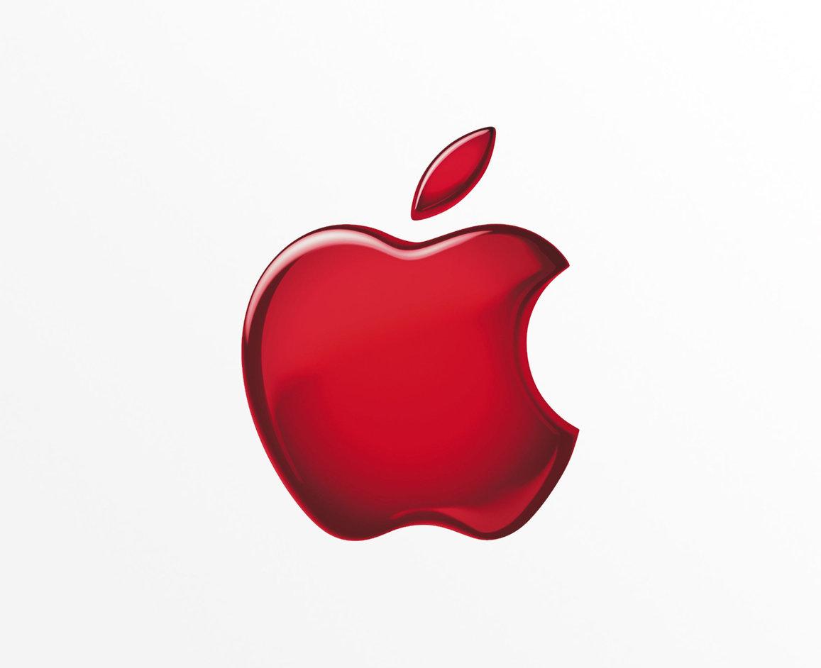 Logo apple màu đỏ