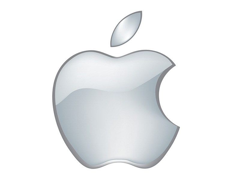 Logo apple xám