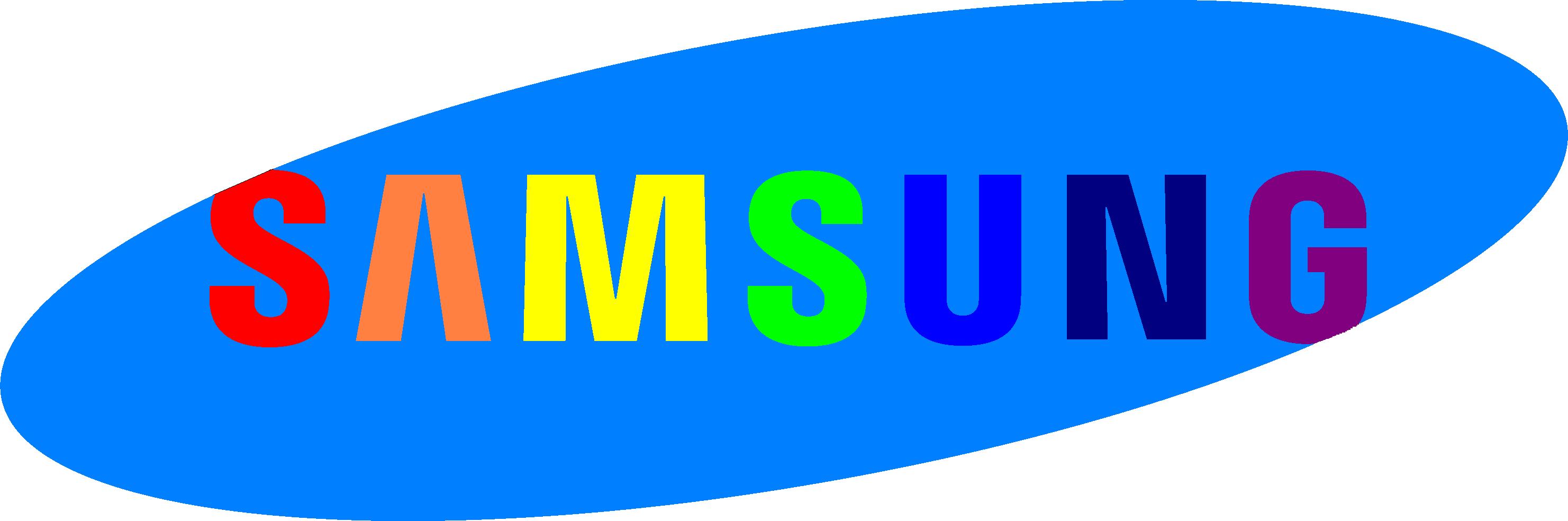 Logo samsung 7 màu