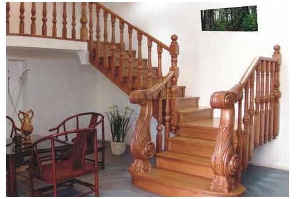 Mẫu cầu thang gỗ đẹp nhất cho ngôi nhà của bạn