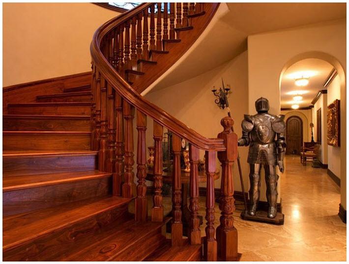 Mẫu cầu thang gỗ đẹp nhất cho ngôi nhà