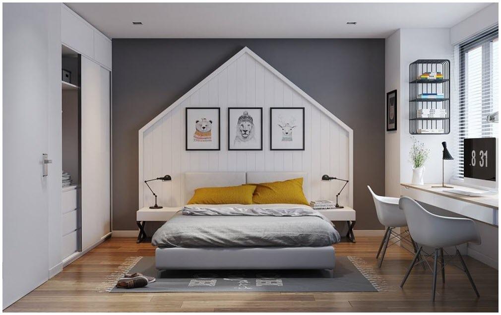 Mẫu phòng ngủ đơn giản hiện đại