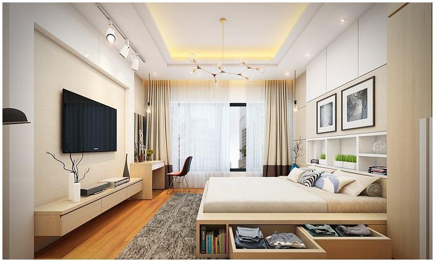 Mẫu phòng ngủ hiện đại nhất