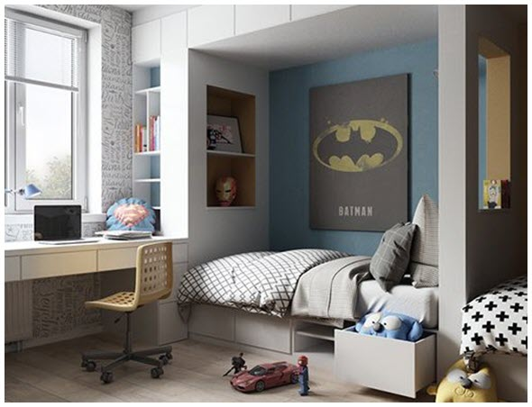 Mẫu phòng ngủ nhỏ cho bé đẹp