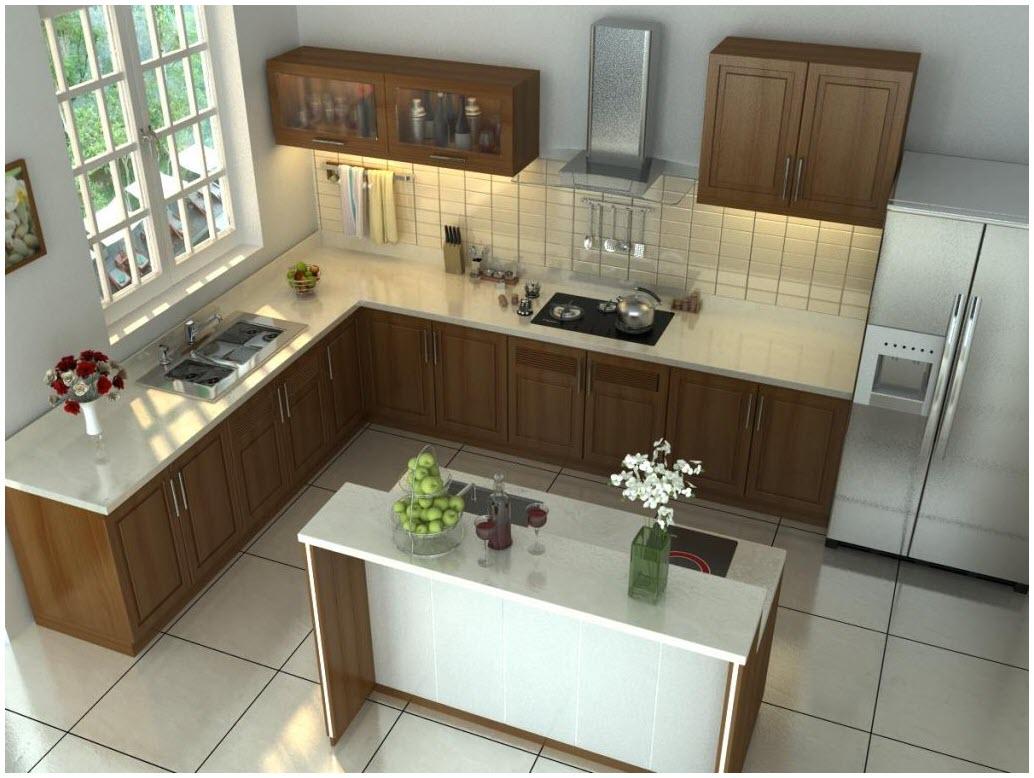 Mẫu thiết kế nhà bếp đơn giản đẹp