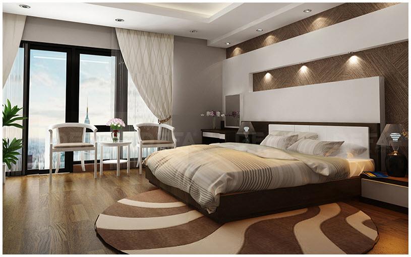 Phòng ngủ hiện đại đẹp