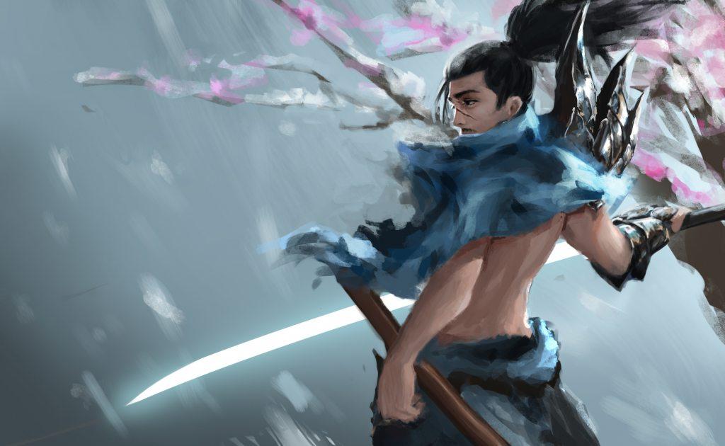 Ảnh đẹp về tướng yasuo