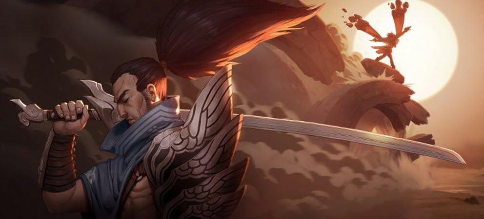 Hình ảnh tướng yasuo cực ngầu