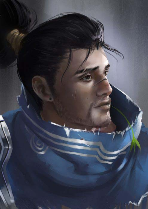 Hình ảnh tướng yasuo đẹp