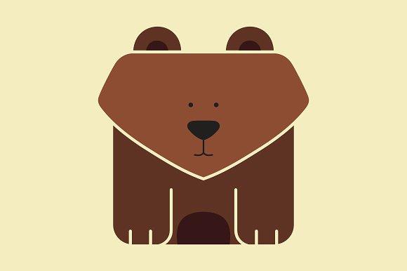 Icon gấu dễ thương