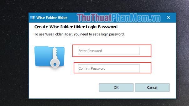 Tạo mật khẩu để truy cập