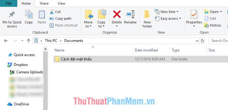 Khóa folder, đặt mật khẩu thư mục, folder dễ dàng, an toàn