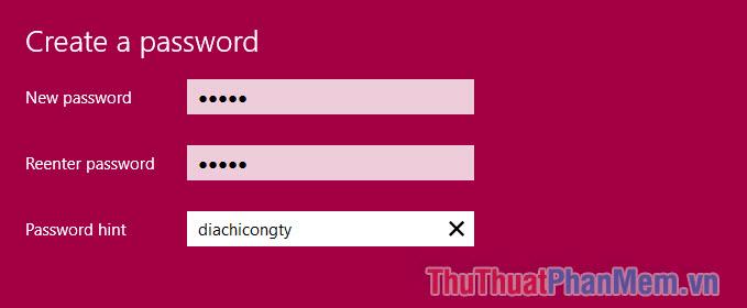 Password hint là gì?
