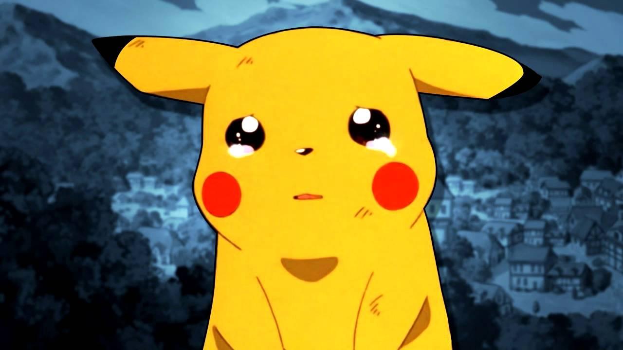 Hình ảnh Pikachu cô đơn đẹp
