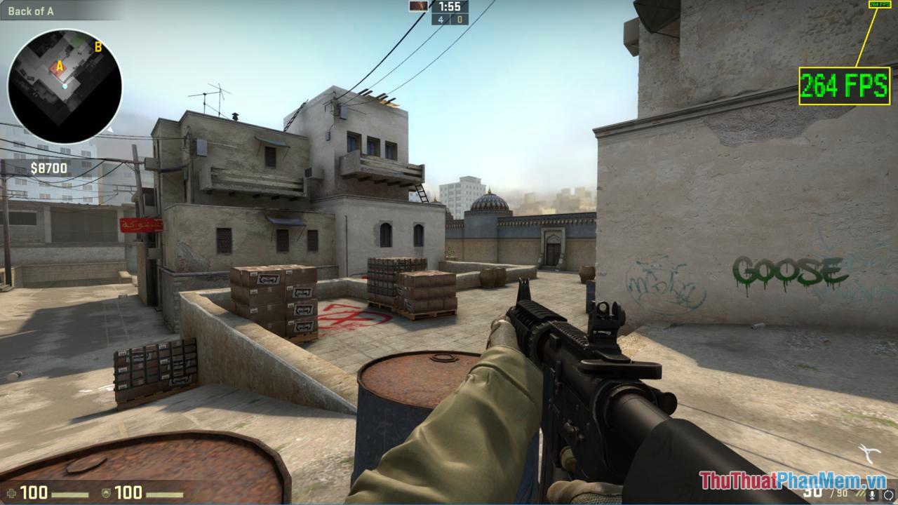 FPS càng cao thì sẽ có trải nghiệm game tốt hơn