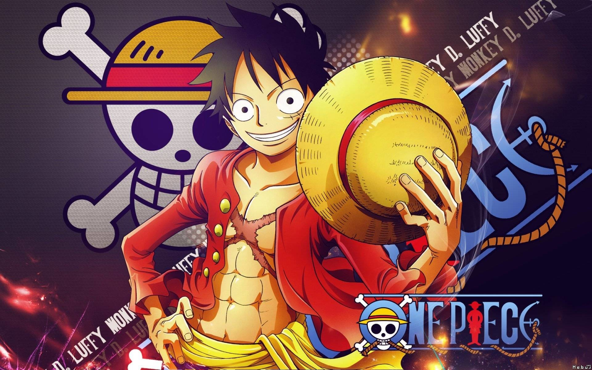 HÌnh ảnh nền Luffy