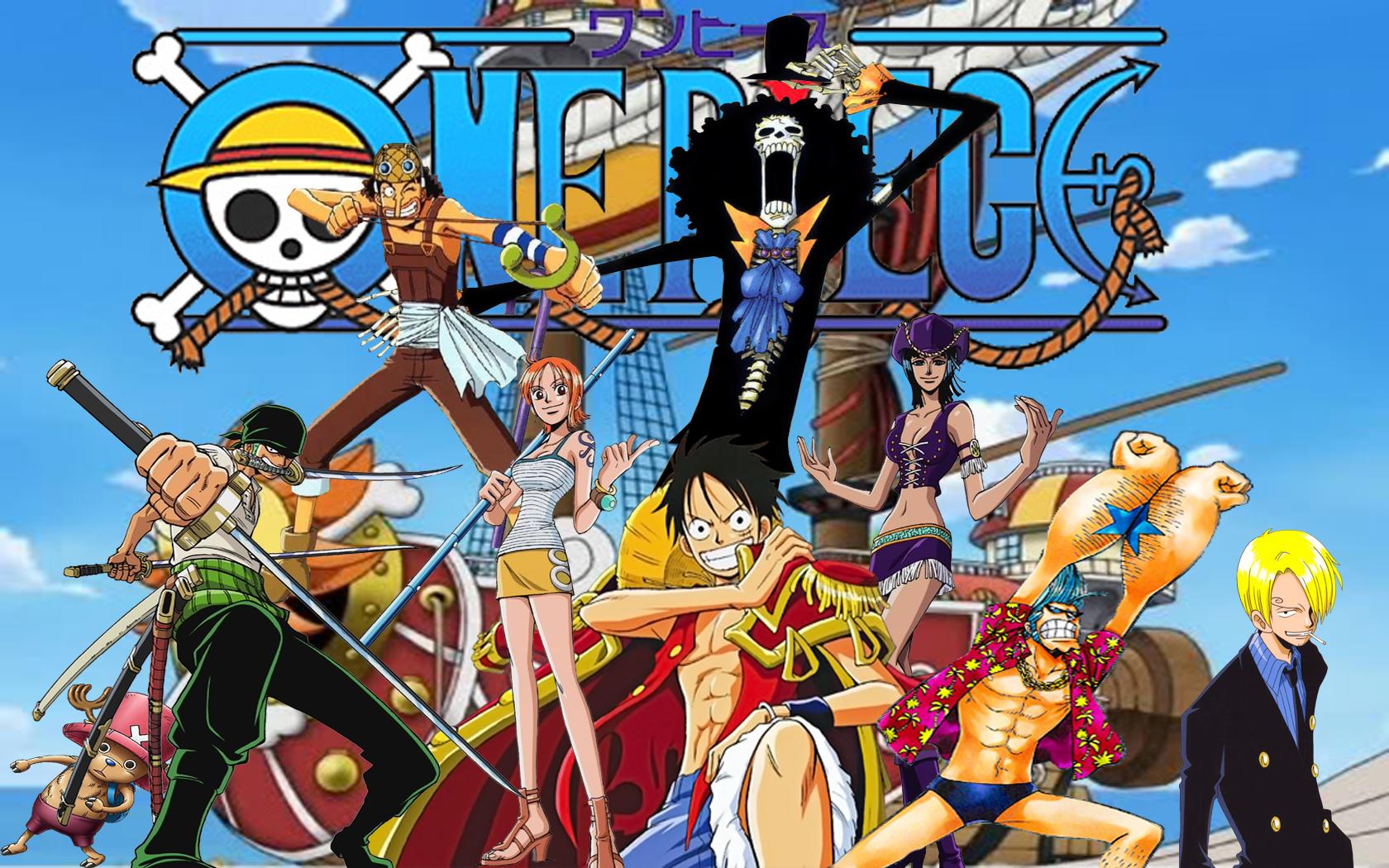 Hình nền Luffy cho máy tính