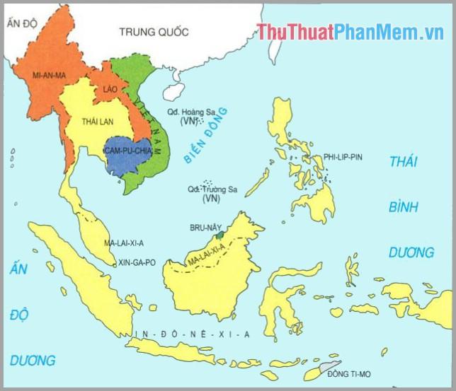 Một số thông tin về khu vực Đông Nam Á