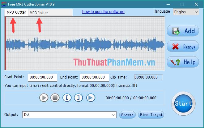 MP3 Cutter (cắt nhạc) - MP3 Joiner (nối nhạc)