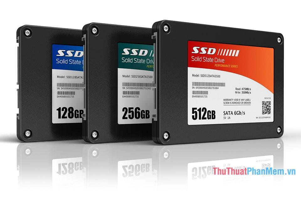 Nâng cấp lên ổ cứng thể rắn SSD