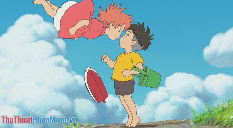 Ponyo – Cô bé người cá Ponyo