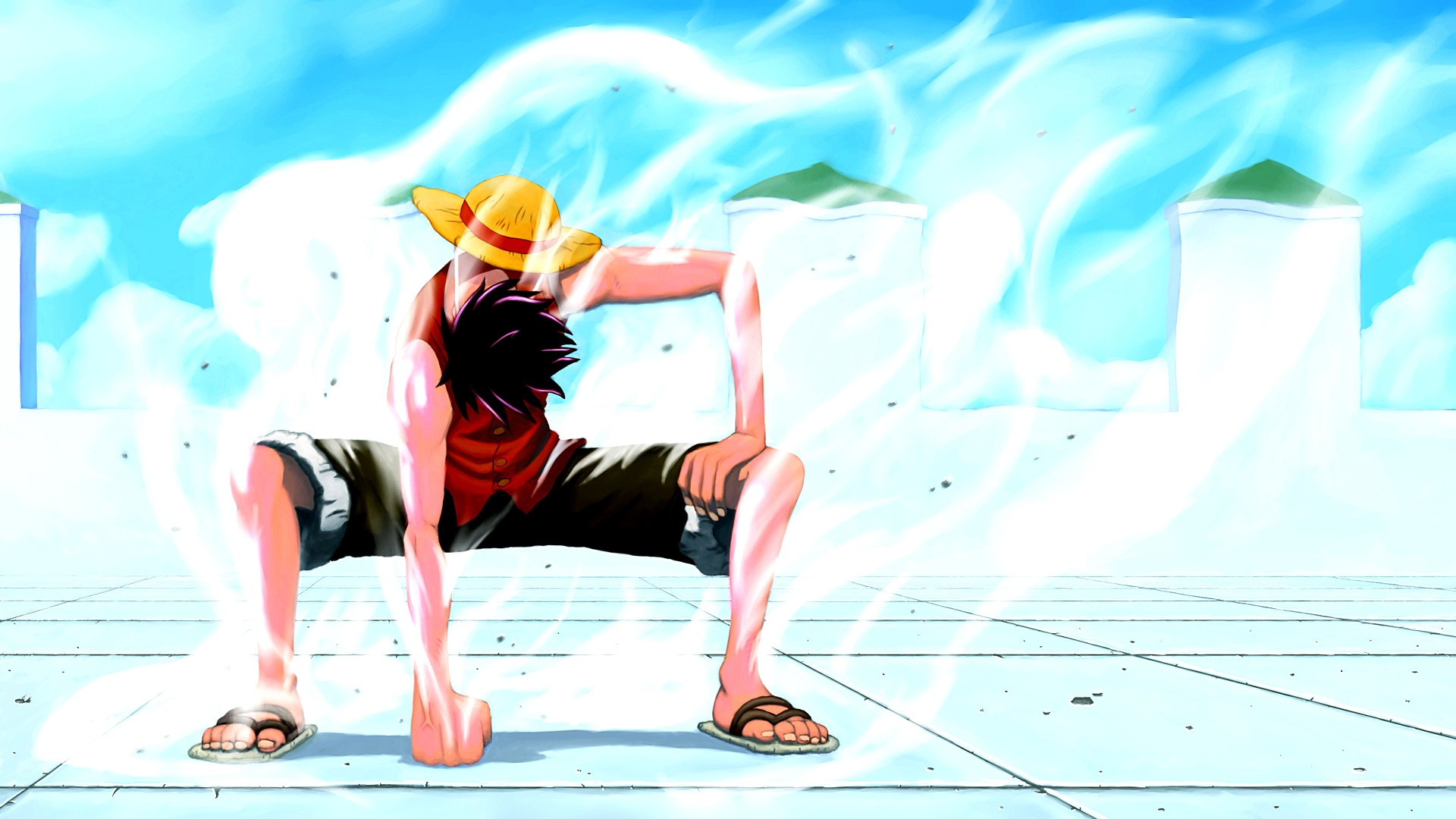 Wallpaper Luffy ngầu