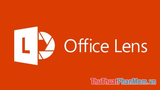 Phần mềm Office Lens