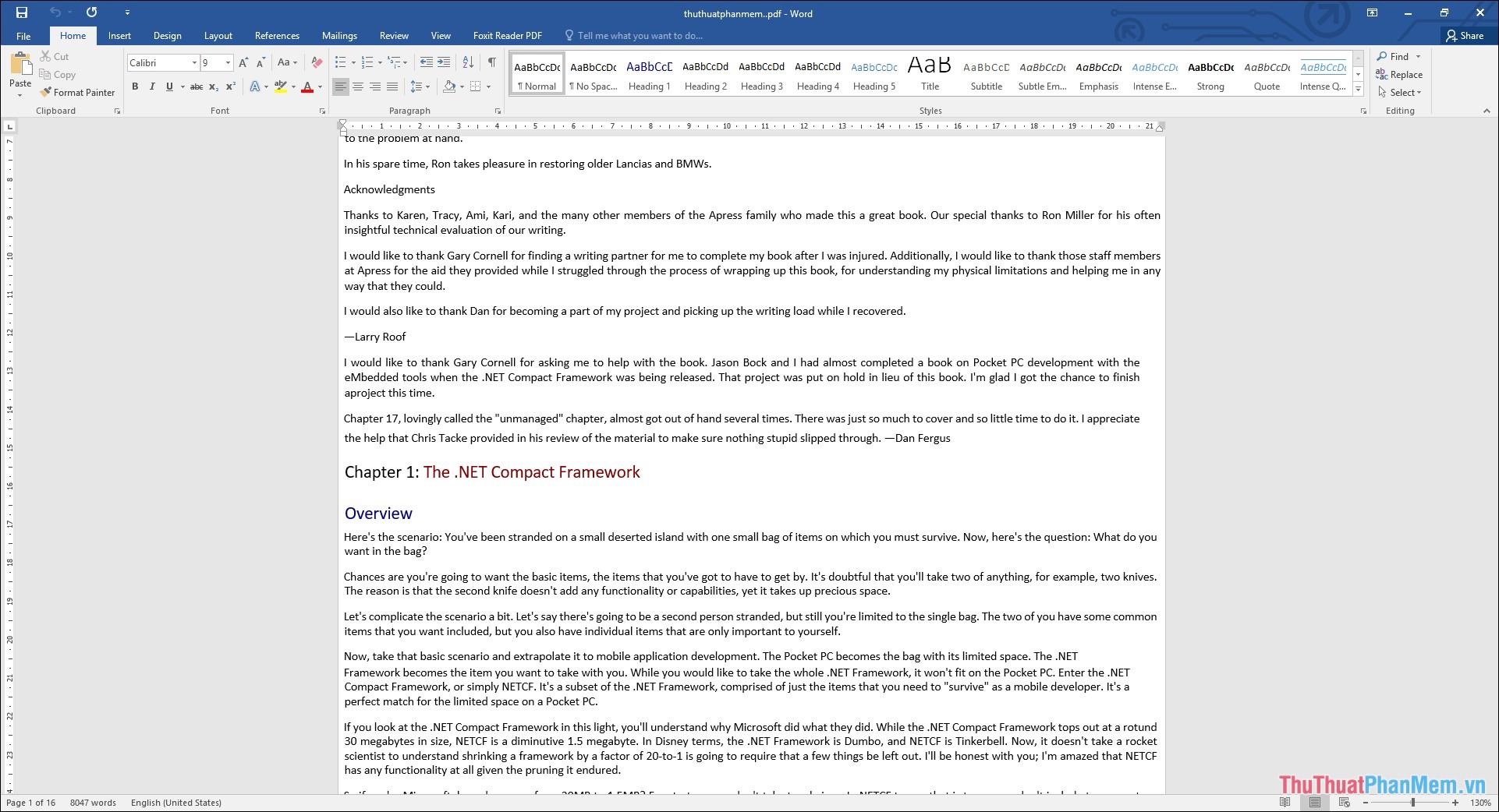 Toàn bộ file PDF đã xuất ra Word