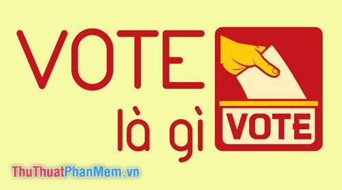 Vote là gì?