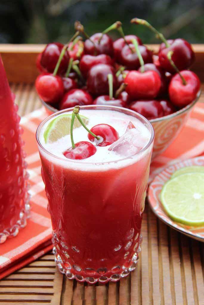 Công thức làm nước éo cherry dinh dưỡng