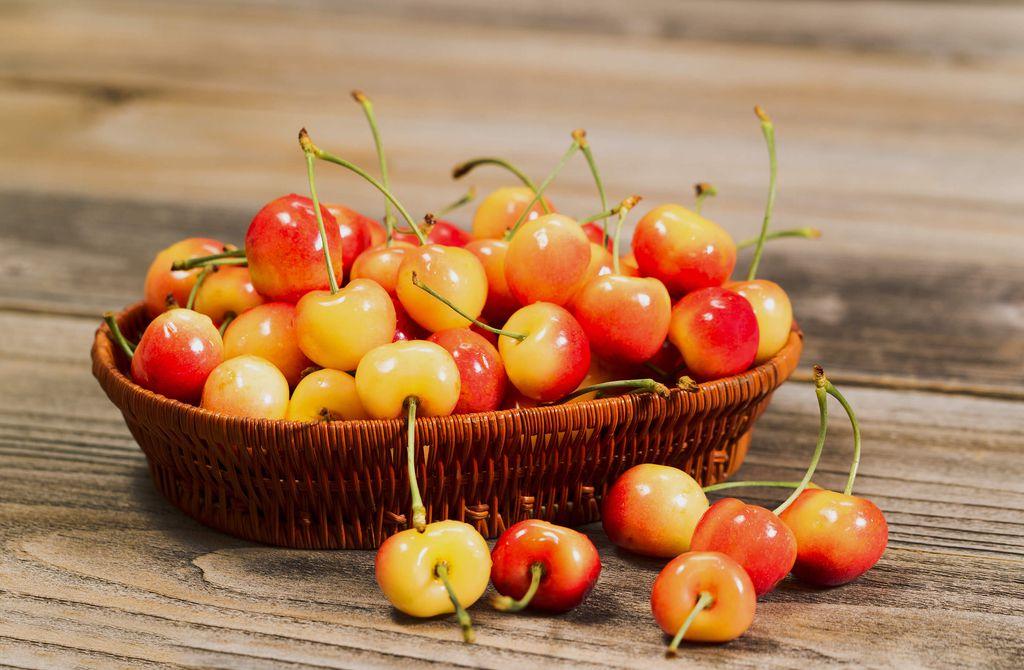 Hình ảnh quả Cherry vàng nguồn dinh dưỡng tuyệt hảo