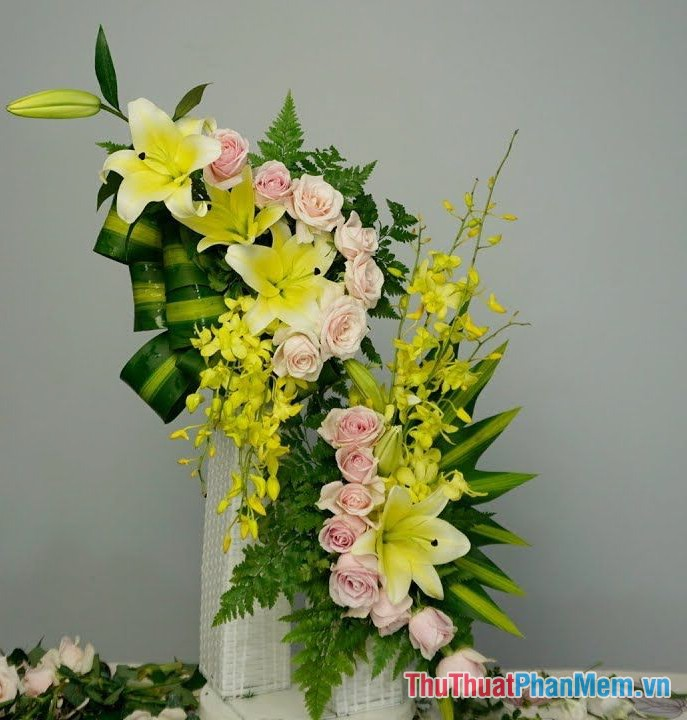Các mẫu cắm hoa - 1