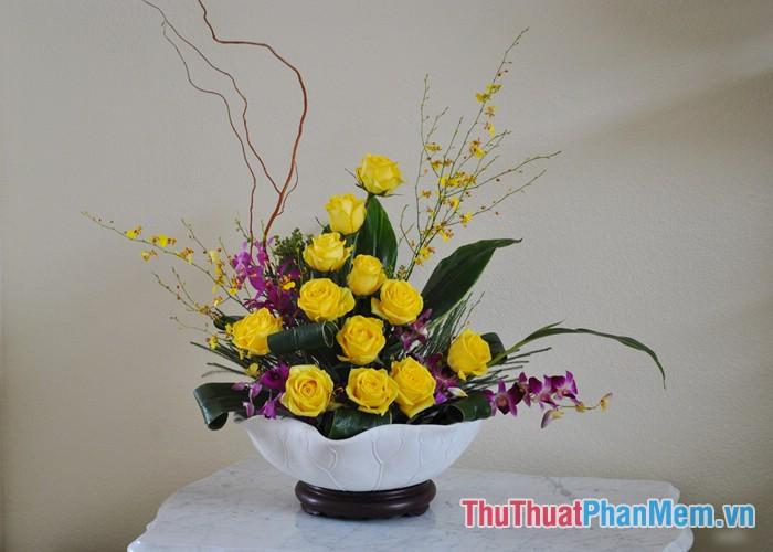 Các mẫu cắm hoa - 4