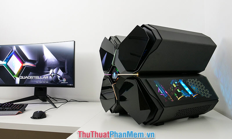 Case DeepCool Quadstellar
