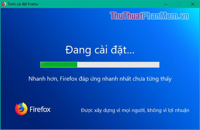 Nhấn đúp vào file để cài đặt