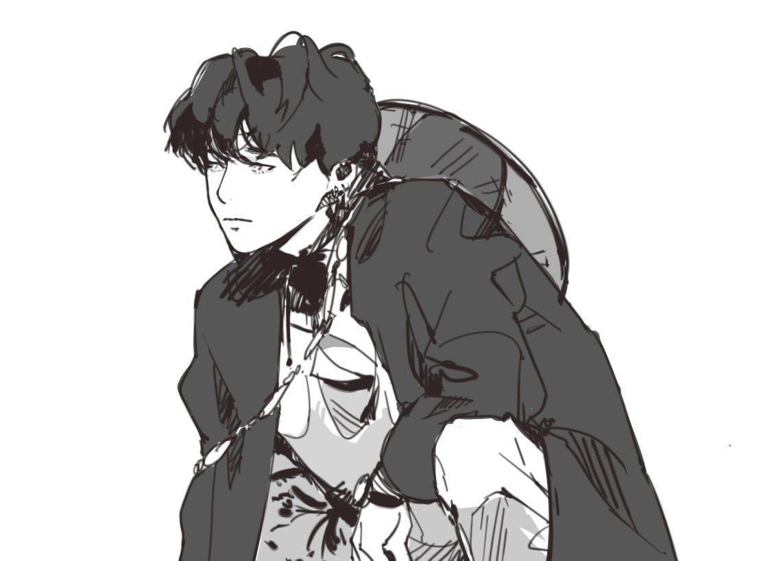 Ảnh bts anime đen trắng