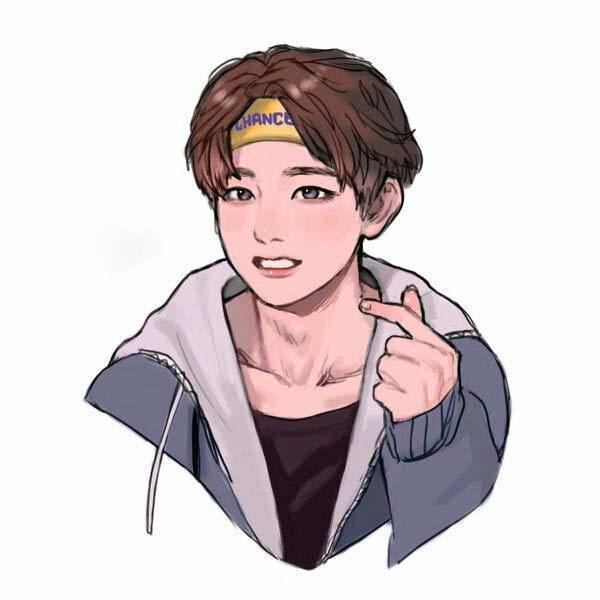 Ảnh chân dung bts anime