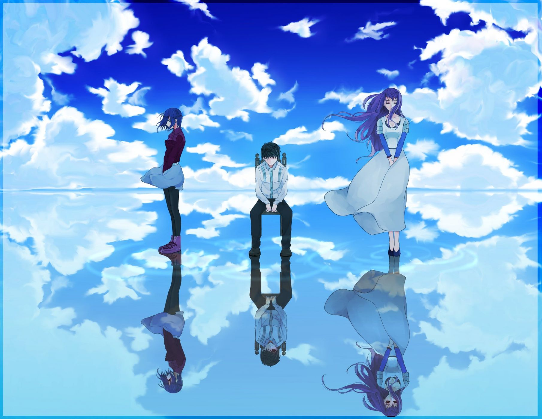 Ảnh nền anime đẹp và độc